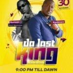 "Runtown Headlines; As Sierra Leonean Music Star ""Kao Denero"" Set To Hold ""Da Last King"" Album Concert"