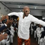 Gist: 2 Face Idibia, Annie Idibia, Alexx Ekubo Storm King's College For Power Of 1 Roadshow Launch