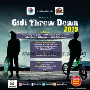 Event: Gidi Throw Down 2019 Debuts With Skateboarding / BMX Freestyle Competition | @Jdsk8NG @Rapmaniax