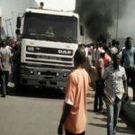 News: Protest As Stray Bullet Kills Tanker Driver In Mile 2, Lagos