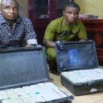 News: 2 Persons Arrested As EFCC 'Intercepts Over N1bn' At Enugu Airport
