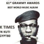E! News: Seun Kuti Finally Nominated For 2019 Grammy Awards