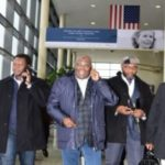 (WATCH): Atiku Arrives America With Saraki – After 12 Years