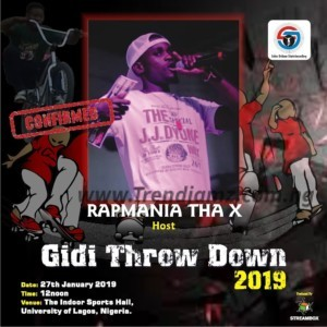 """Event: Rapmania Tha X Re-emerged To Host His First Event Of 2019, Juice Deluxe Skateboarding & BMX Competition tagged """"Gidi Throw Down 2019"""" 