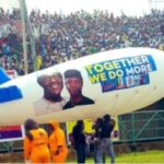 News: President Buhari Arrives Lagos For Campaigns (Photos+Video)