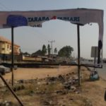 News: Drama As Thugs Destroy Buhari's Campaign Posters In Taraba Ahead Of His Visit