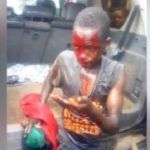 News: Boy Left Bloodied After Being Caught Stealing Female Underwear (Photos+Video)