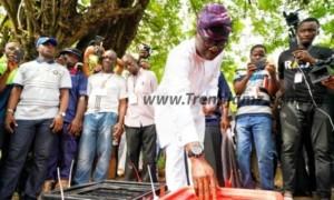 Babajide Sanwo-Olu Wins In His Polling Unit
