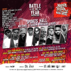 Event: Battle Of The Year Nigeria 2019 Brings Da Ruckus | @botynigeria @rapmaniax @House_of_hypes