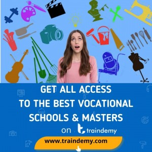 Get All Access To Learn Any Vocational And Technical Skills Online On TRAINDEMY.COM