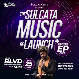 Sulcata Entertainment Relaunches Sulcata Music In Style